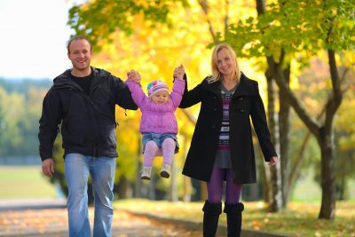 BMDG Individual Life Insurance Policies in Los Angeles Family Walking